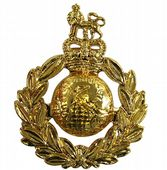 Royal Marines Cap / Beret Badge